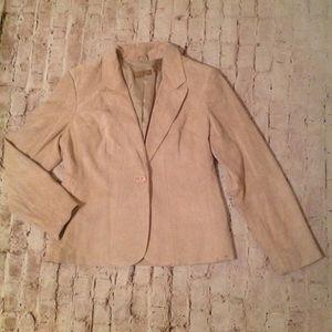 Jackets & Blazers - suede i,e petite jacket.